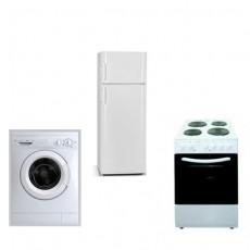 Φοιτητικό Πακέτο FTP4 Ψυγείο+Πλυντήριο+Κουζίνα & Δώρο βραστήρας αξίας: 12.99