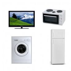 Φοιτητικό Πακέτο FTP5 Ψυγείο 144cm +Πλυντήριο+φουρνάκι + TV 32in