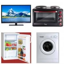 Φοιτητικό Πακέτο FTP1 Ψυγείο +Πλυντήριο +φουρνάκι +TV 24In